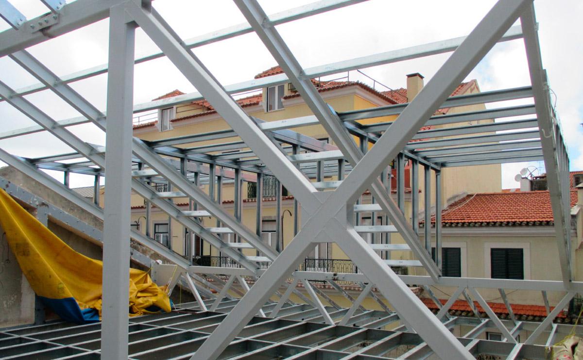 REHABILITATION DE CONSTRUCTION À LISBONNE CENTRE